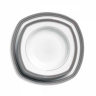 Korkmaz - Korkmaz Belinda Collection 86 Parça Kare Yemek Takımı (1)