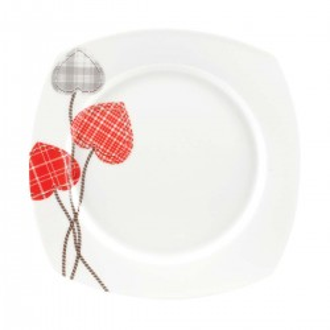 Korkmaz - Korkmaz Bonjour Collection 36 Parça Kare Kahvaltı Seti (1)