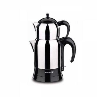 Korkmaz - Korkmaz Çaytez Siyah Elektrikli Çaydanlık