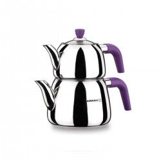 Korkmaz - Korkmaz Erguvan Çaydanlık Takımı
