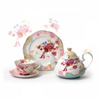 Korkmaz - Korkmaz Flora 23 Parça Çay Seti
