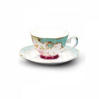 Korkmaz - Korkmaz Flora 6'lı Kahve Fincan Takımı