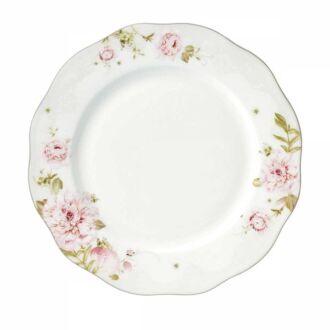 Korkmaz - Korkmaz Flora Collection 24 Parça Yuvarlak Yemek Takımı