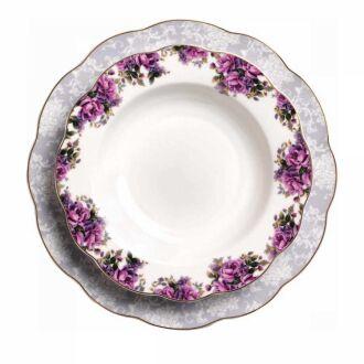 Korkmaz - Korkmaz Flora Collection 86 Parça Yuvarlak Yemek Takımı (1)