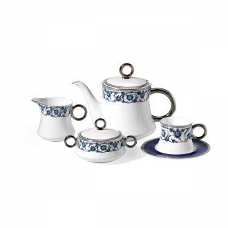 Korkmaz - Korkmaz Hasbahçe Mai 17 Parça Çay Seti