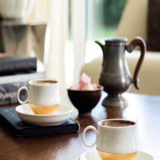 Korkmaz - Korkmaz Kazancı 6'lı Kahve Fincan Takımı
