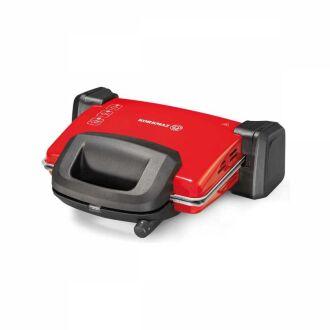 Korkmaz - Korkmaz Kompakto Kırmızı/Siyah-Gri Granit Small Tost Makines (1)