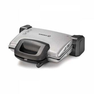 Korkmaz - Korkmaz Kompakto Gri/Siyah Granit Maxi Tost Makines