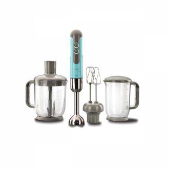 Korkmaz - Korkmaz Mia Mega Mavi Blender Set