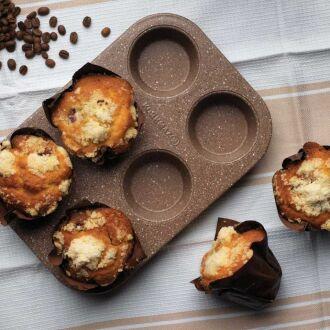 Korkmaz - Korkmaz Muffy 6'lı Muffin Kalıbı