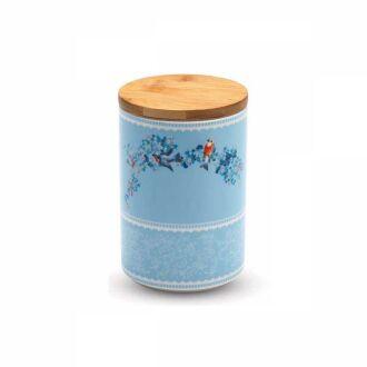 Korkmaz - Korkmaz Natura 11x16 cm Mavi Saklama Kabı