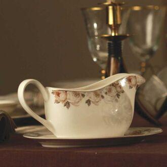 Korkmaz - Korkmaz Pearl Collection 86 Parça Yuvarlak Yemek Takımı (1)