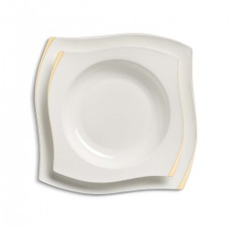 Korkmaz - Korkmaz S Collection Gold 86 Parça Yemek Takımı (1)