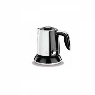 Korkmaz - Korkmaz Tek Kahve Beyaz/Siyah Elektrikli Cezve Makinesi