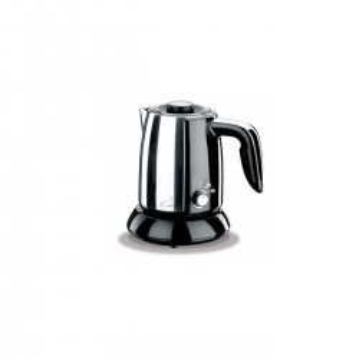 Korkmaz - Korkmaz Tek Kahve Inox/Siyah Elektrikli Cezve Makinesi