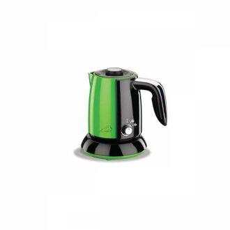 Korkmaz - Korkmaz Tek Kahve Yeşil/Siyah Elektrikli Cezve Makinesi