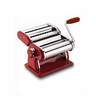 Korkmaz - Korkmaz Twista Retro Kırmızı Makarna Makinesi