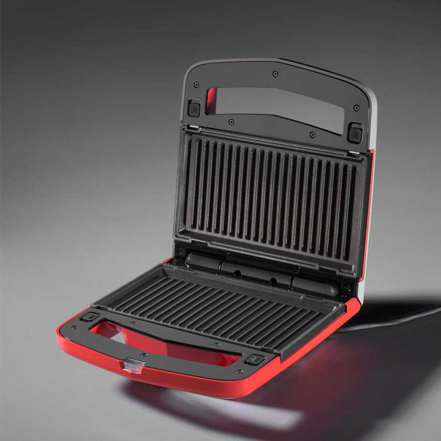 Korkmaz Vertex Kırmızı Waffle Makinesi