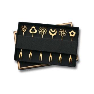 Korkmaz İkona 6'Lı Gold Çatal Seti