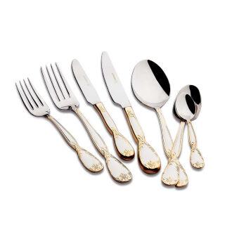 Korkmaz Florance Gold 84 Parça Çatal Kaşık Bıçak Seti
