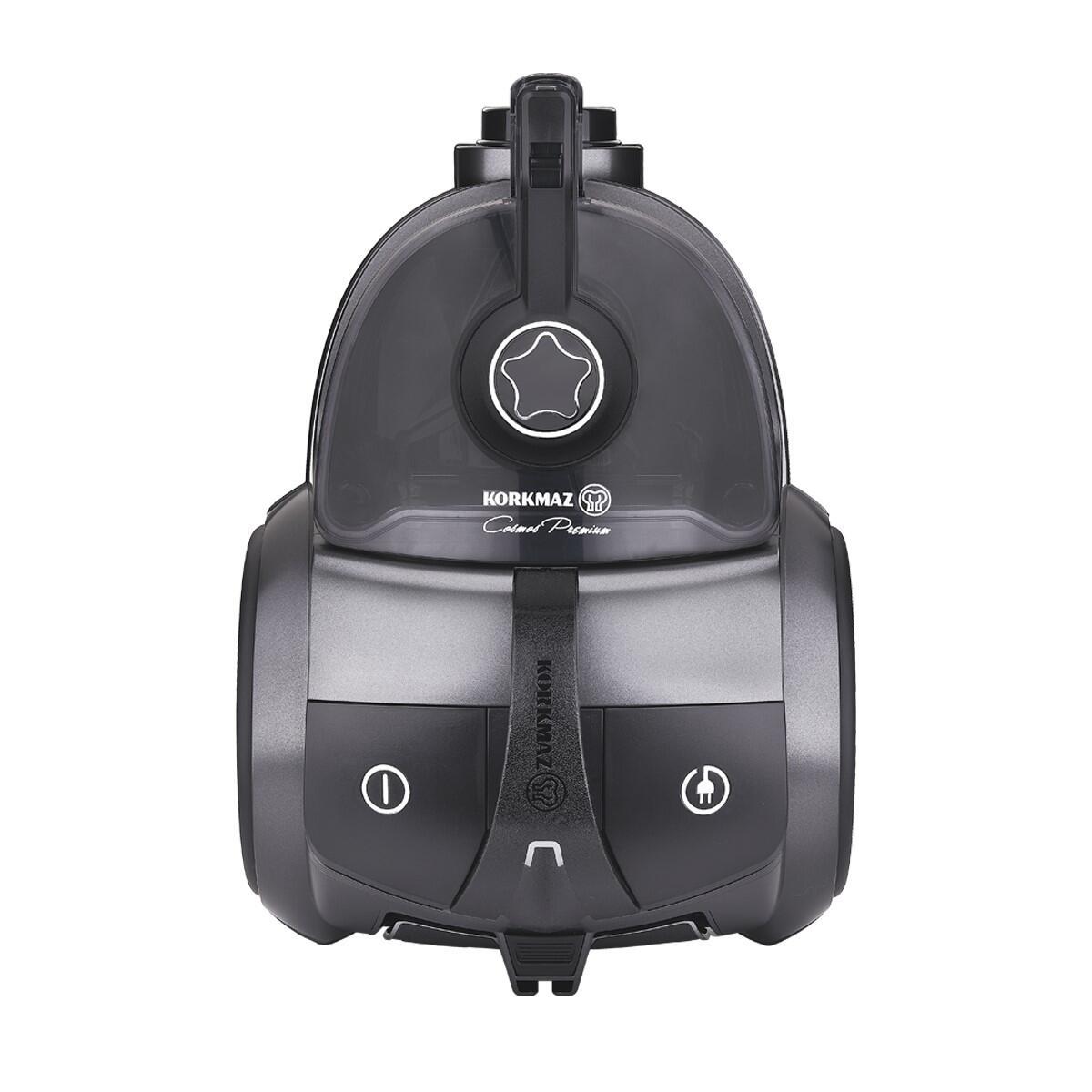 Korkmaz Cosmos Premium Antrasit/Siyah Elektrikli Süpürge