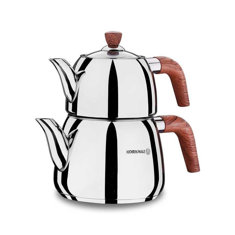 Korkmaz Abana Çaydanlık Takımı