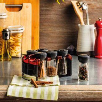 Korkmaz Aroma 6'lı Kırmızı Baharat Seti - Thumbnail