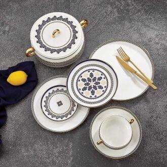 Korkmaz Aşiyan Collection 91 Parça Yuvarlak Yemek Takımı - Thumbnail