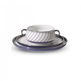 Korkmaz - Korkmaz Aşiyan Koleksiyon 120 Parça Kobalt Mavi Yemek Takımı (1)