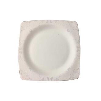 Korkmaz - Korkmaz Bone Selection 60 Parça Kare Yemek Takımı (1)