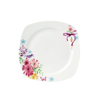 Korkmaz - Korkmaz Bonjour Collection 28 Parça Kare Kahvaltı Seti (1)