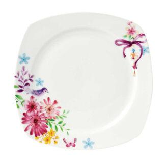 Korkmaz - Korkmaz Bonjour Collection 30 Parça Kare Kahvaltı Seti (1)