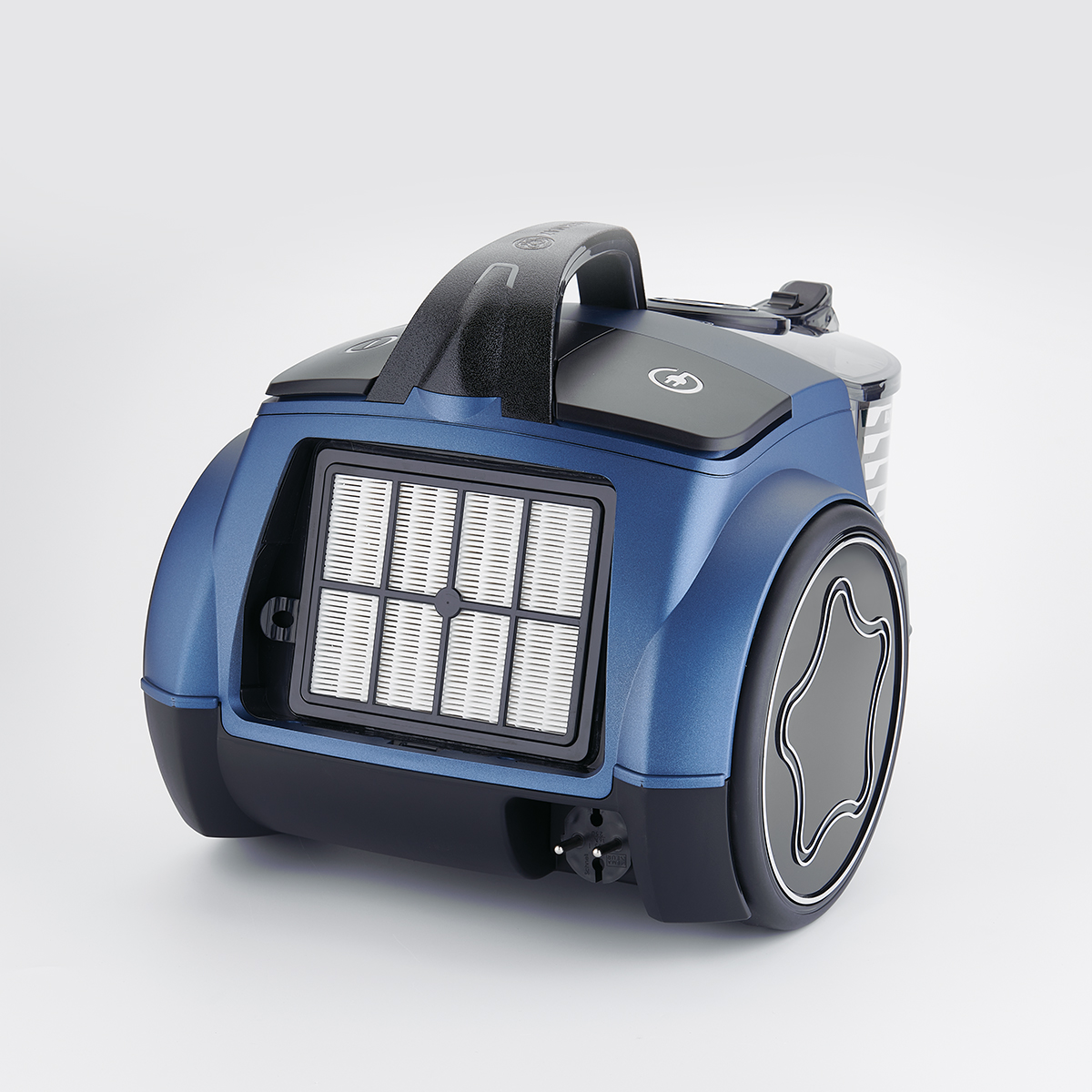 Korkmaz Cosmos Premium Azura/Siyah Elektrikli Süpürge