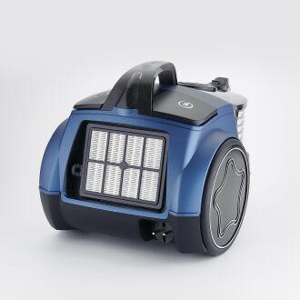 Korkmaz Cosmos Premium Azura/Siyah Elektrikli Süpürge - Thumbnail