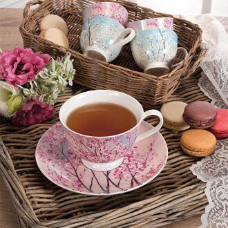 Korkmaz Country 6'lı Çay Fincan Takımı - Thumbnail