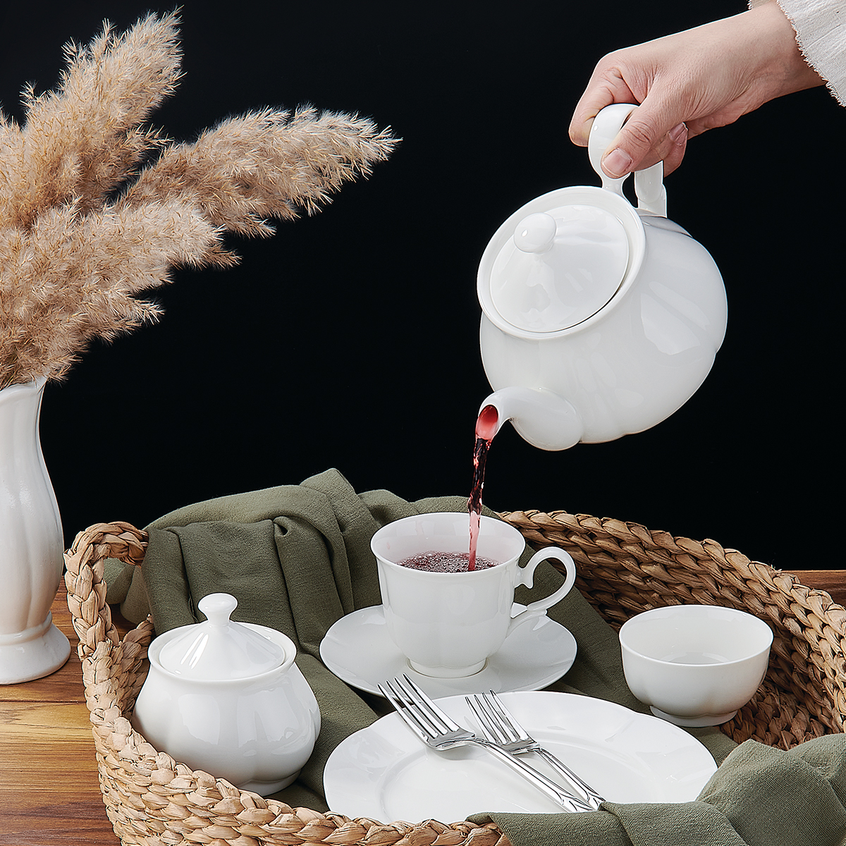 Korkmaz Diana Collection 30 Parça Kahvaltı Takımı