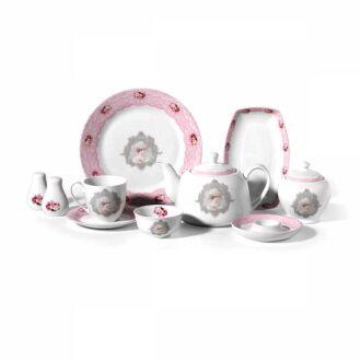 Korkmaz - Korkmaz Dream Collection 36 Parça Yuvarlak Kahvaltı Takımı (1)