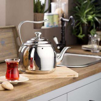 Korkmaz - Korkmaz Droppa 2.7 lt Çaydanlık (1)