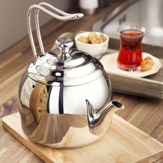 Korkmaz - Korkmaz Droppa 3.5 lt Çaydanlık (1)