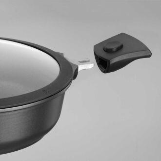 Korkmaz - Korkmaz Flexia 28 cm Kısa Tencere (1)
