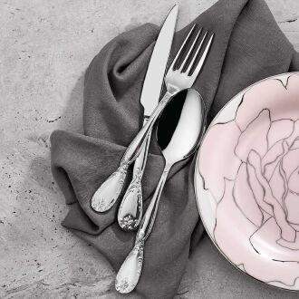 Korkmaz Florance 84 Parça Çatal Kaşık Bıçak Seti - Thumbnail