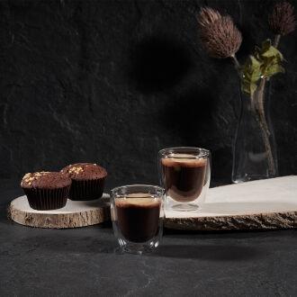 Korkmaz Freedom Çift Cidarlı 2li Espresso Bardak Seti - Thumbnail