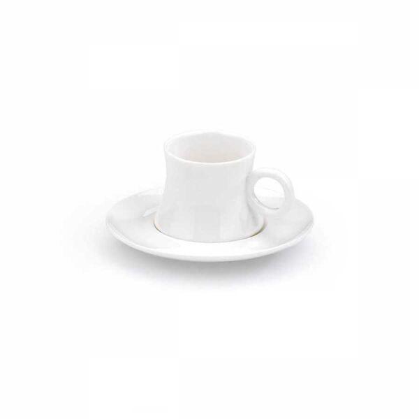 Korkmaz Freedom 6'lı Beyaz Kahve Fincan Takımı