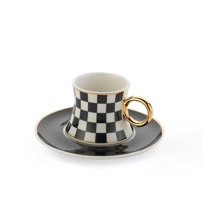 Korkmaz Freedom 6′Lı Kahve Fincan Takımı