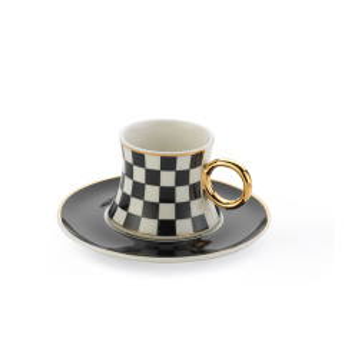 Korkmaz Freedom 6′Lı Kahve Fincan Takımı - Thumbnail
