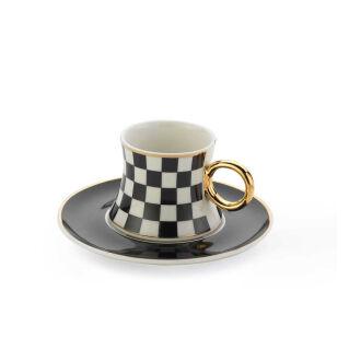 Korkmaz Freedom 6'Lı Kahve Fincan Takımı - Thumbnail