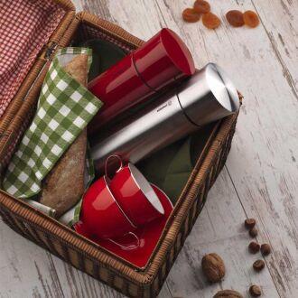 Korkmaz Freedoom 850 ml / Kırmızı Maxi Termos - Thumbnail