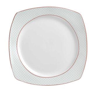 Korkmaz - Korkmaz Gala Collection 24 Parça Kare Yemek Takımı (1)