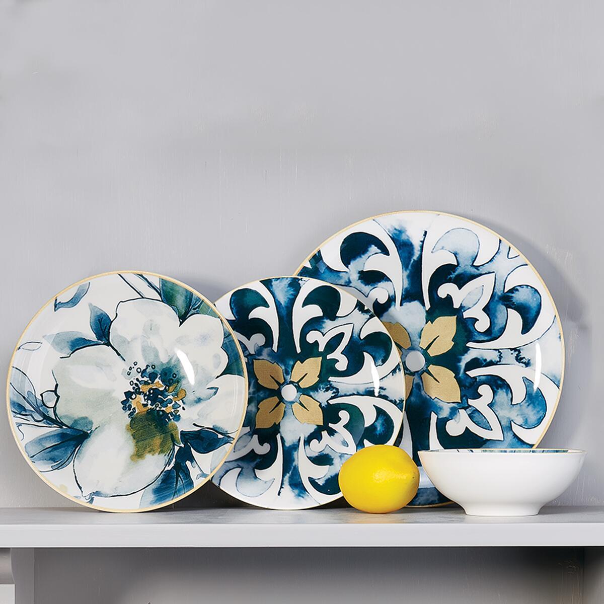 Korkmaz Gardena Collection 24 Parça Yemek Takımı