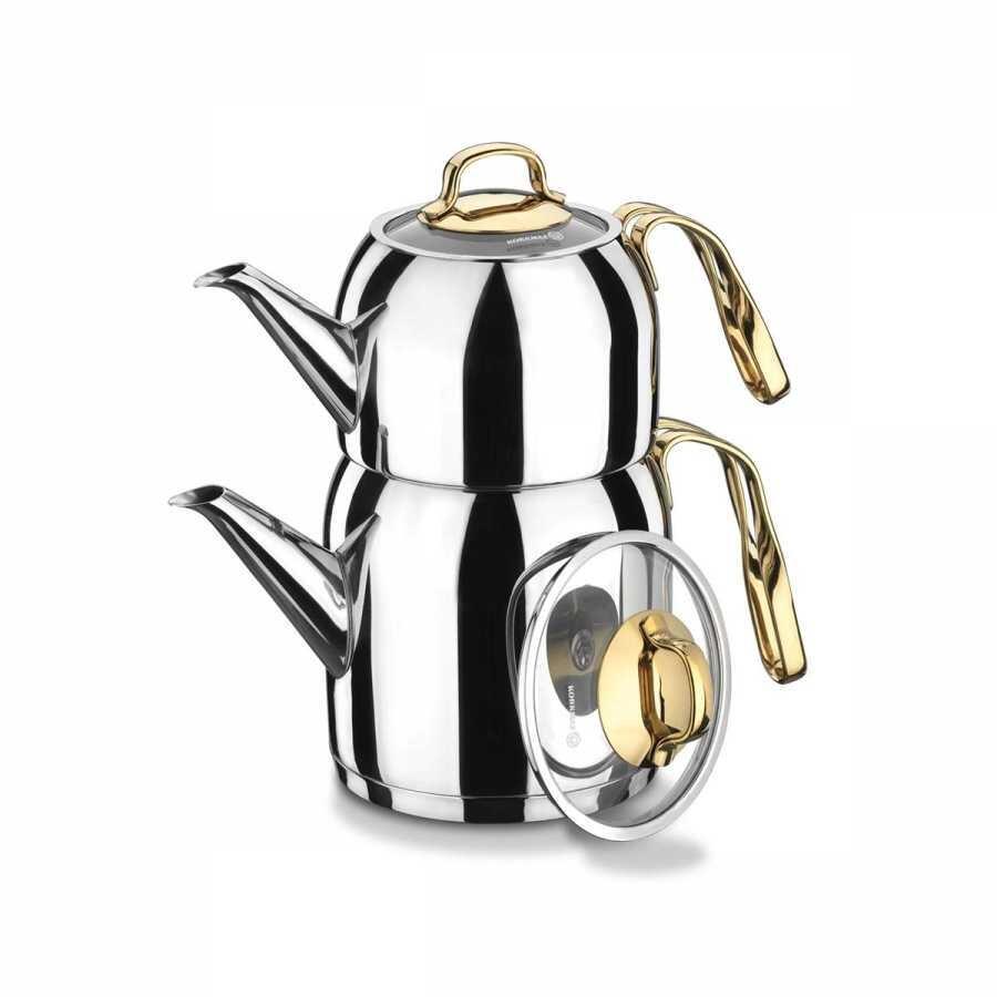Korkmaz Goldia Çaydanlık Takımı